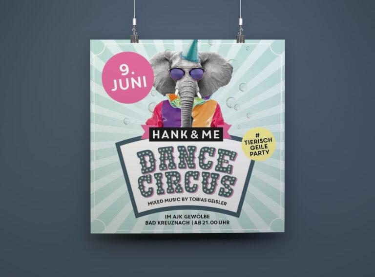 hank-and-me-plakat-dance-circus