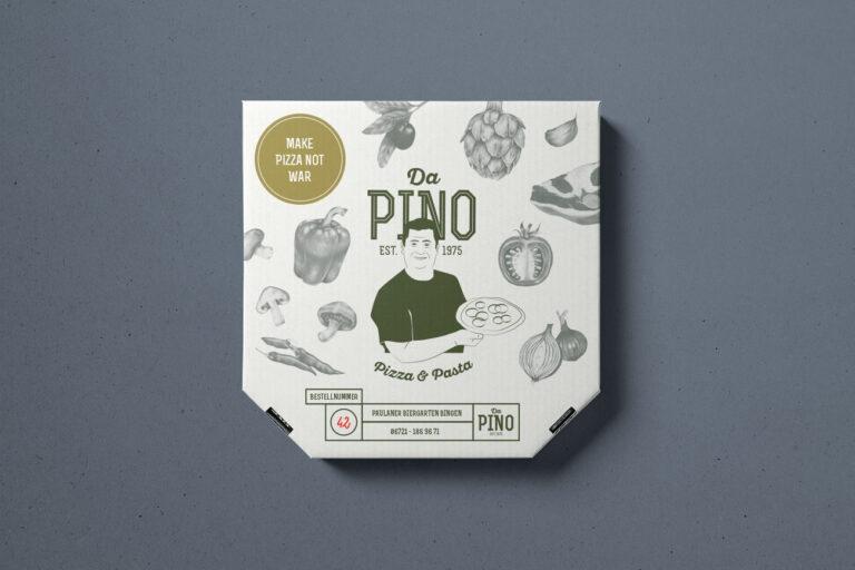 Pizza da Pino Pizzakarton